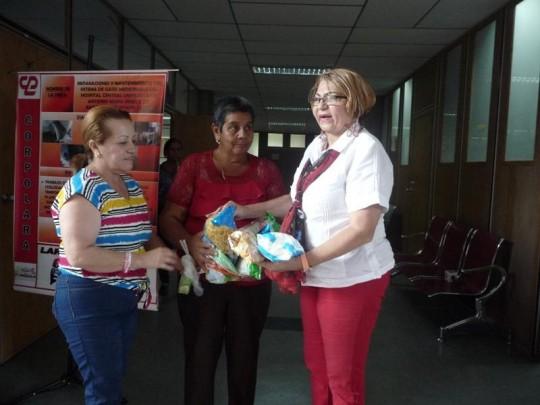 Comunidades se organizan y colaboran dijo Nereida