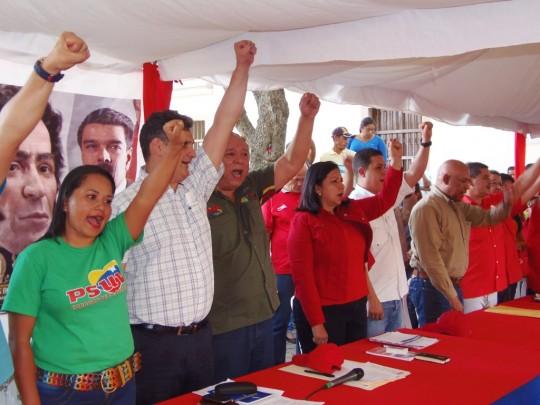 El Tocuyo demostró su fuerza chavista y revolucionaria