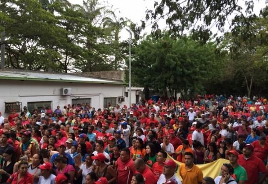 Chavistas de Torres ratificaron su apoyo a la Revolución