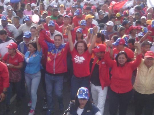 """Trabajamos para ratificar una Asamblea Chavista"""
