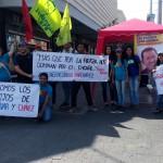 Con música y alegría la juventud salió a las calles en defensa de Bolívar y Chávez