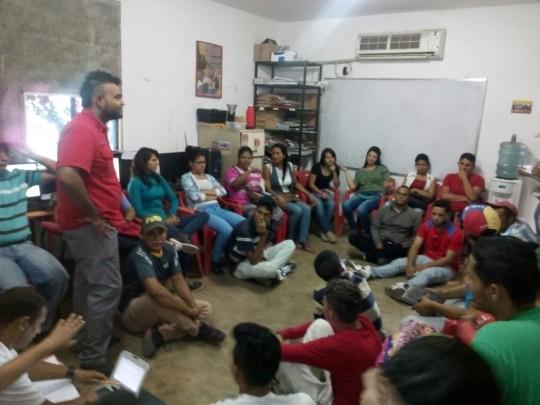 En el municipio Torres la juventud se sumó al llamado para la construcción de la patria