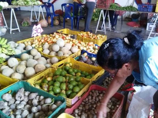 Hortalizas, verduras y frutas son distribuidos a precios solidarios