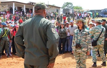 Vicepresidente de Seguridad y Defensa del Psuv Luis Reyes Reyes ratificó su apoyo a la FANB y al poder popular activo