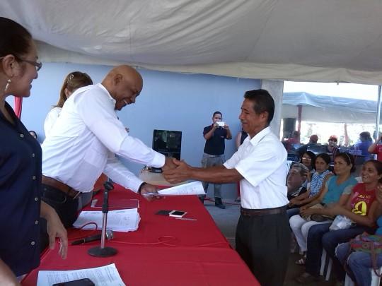 """""""Con alegría seguimos cumpliendo con el desafío de Chávez: La Gran Misión Vivienda Venezuela"""" dijo Reyes Reyes"""