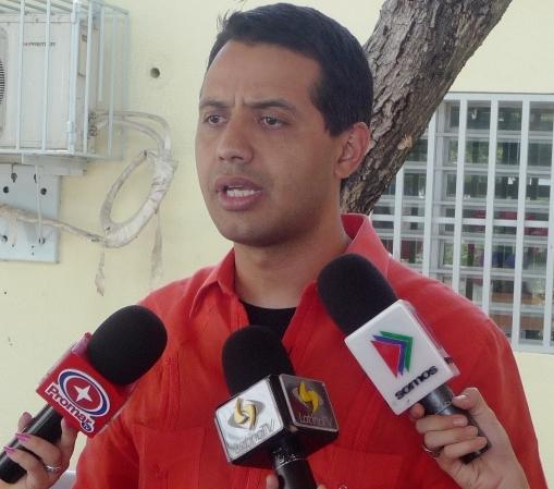 """Luis Jonás Reyes: """"Garantizamos la organización efectiva de los Clap en Lara"""""""
