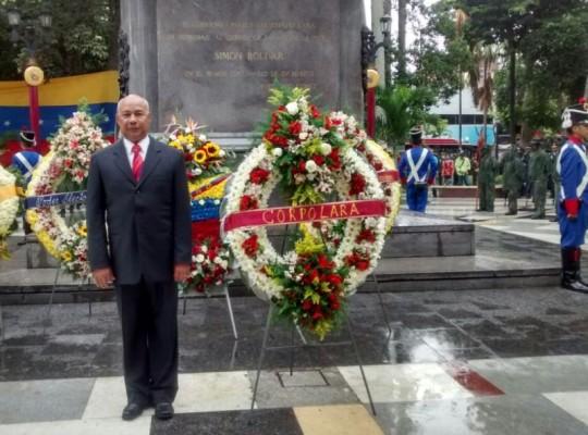 Luis Reyes Reyes, presidente de Corpolara, valoró el espíritu libre de Venezuela