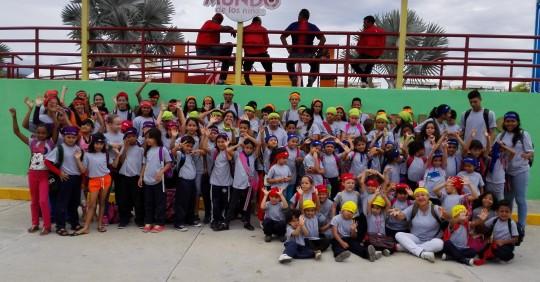 Con excelente organización, Corpolara atendió a los niños y niñas