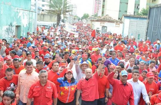 """""""Estamos firmes en defensa de la Revolución"""""""