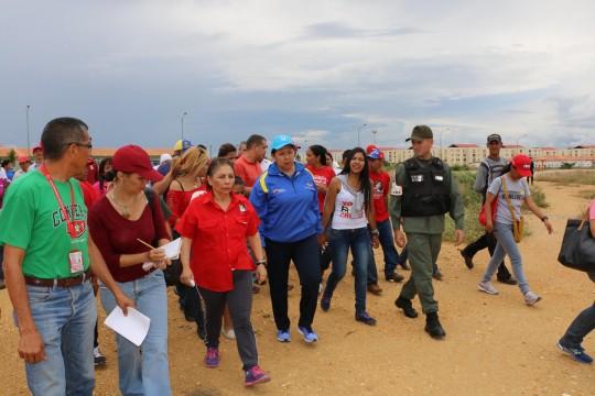 Mirna Vies Jefa de Zona Educativa del estado Lara acoompañó inspección