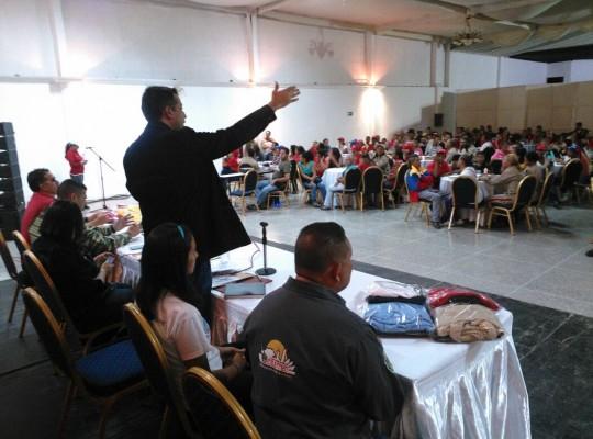 """Luis Jonás Reyes Flores: """"Cumplimos mandato del Presidente Maduro Todo el Poder para los Clap"""""""