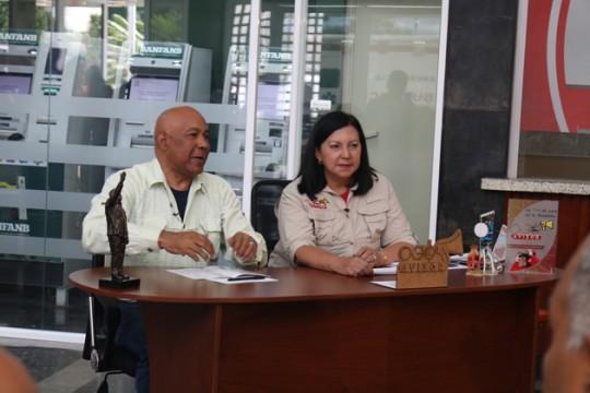 """""""El comandante Reyes Reyes es un invitado permanente al programa"""" dijo Meléndez"""