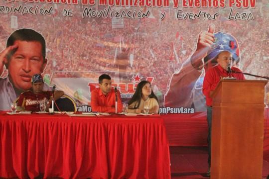 Movilizadores del Psuv estuvieron presentes en el encuentro