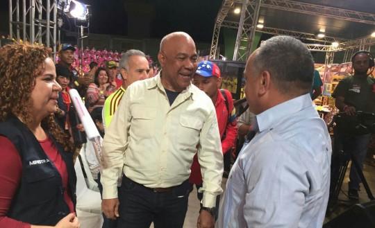 """Cabello: """"Coronel Luis Reyes Reyes revolucionario, hermano de nuestro comandante Hugo Chávez"""""""