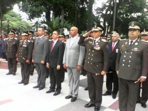 Acto  conmemorativo 24 de junio en Plaza Bolívar de Barquisimeto