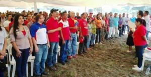Se hizo entrega de fertilizantes, insumos y semillas de maíz blanco a comunas y consejos comunales