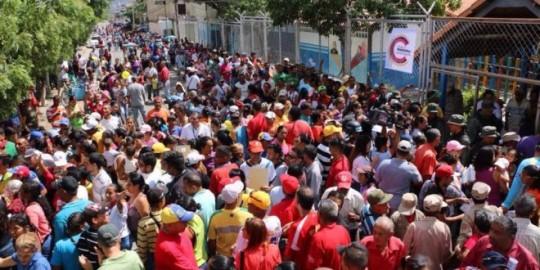 Pueblo larense demostró Confianza Constituyente