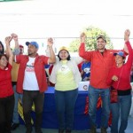 Los candidatos propician la Paz en Lara