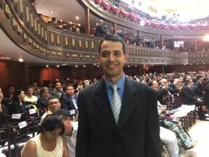 Constituyentista Luis Jonás Reyes Flores