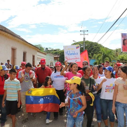 La Almiranta recorre todos los municipios larense