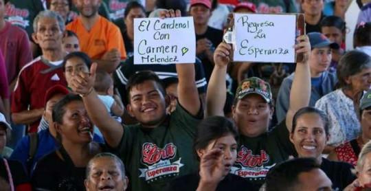 Productores apoyan a la Almiranta Carmen Meléndez