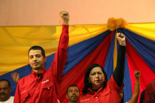 Almiranta Carmen Meléndez apoya al candidato Luis Jonás