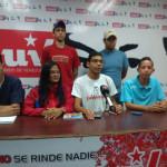 """""""Este es nuestro mes, vamos juventud, vamos juntos a construir el futuro junto a nuestro Presidente Nicolás Maduro"""" Reitero Carucí FOTO PRENSA JPSUV LARA"""
