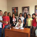 Periodistas demostraron su apoyo a Nicolás Maduro y a la revolución