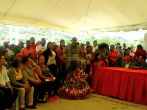 Comandante Lus Reyes Reyes fue orador de orden en sesión 40 años de Juan de Villegas