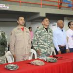 Luis Reyes Reyes, VicePdte. Seguridad y Defensa del PSUV presente con los milicianos