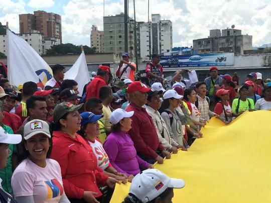 MARCHA POR LA PAZ en Caracas