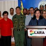 GOBIERNO DE LARA APOYA A MADURO