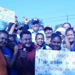 Quiboreños apoyan a Nicolás Maduro