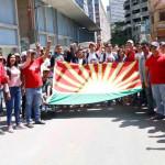"""Lara """"presente"""" ratificando la Revolución de Chávez"""